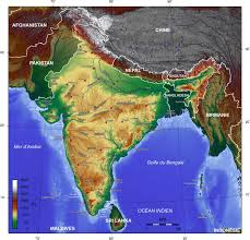 Map Of India by India Topographic Map Maps Of India