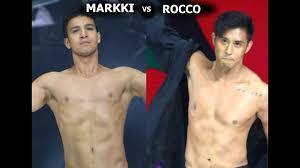 Richard Gutierrez Bench Markki Stroem Vs Rocco Nacino On The Stage Of Bench Under The