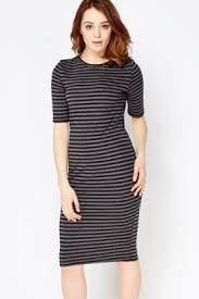 grey bodycon dress grey striped bodycon dress just 5