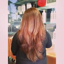 v cut with long layers on this beautiful hair by letty yelp