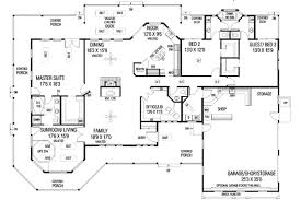Farmhouse House Plans With Porches Craftsman Style House Plan 3 Beds 2 50 Baths 2778 Sq Ft Plan 60 298