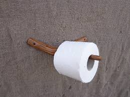 toilet paper holder wood branch toilet paper holder wooden toilet paper holder rustic