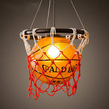 Acrylic Ceiling Light Vintage Basketball Pendant Light Acrylic Ceiling L Retro