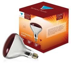 250 watt infrared heat l bulb triangle bulbs t20931 6 6 pack 250r40 red 250 watt r40