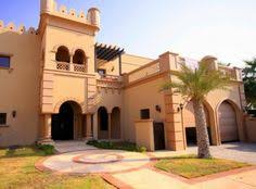 Arabic Home Designs Elevation Dubai Arabian HOuse D Front - Arabic home design