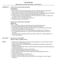 software developer resume tips entry level software engineer resume samples velvet jobs