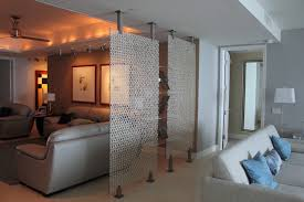 kitchen divider ideas room divider contemporary living room miami by fd m