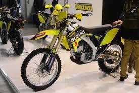 suzuki motocross bikes dirt bike magazine milan motorcycle show day 2