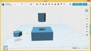 123d design tutorial basics 6 6 combining sketches with solids