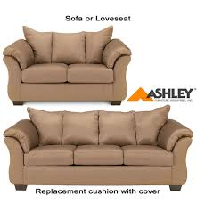 sofa cushions replacements ashley darcy replacement cushion cover only 7500238 or 7500235 mocha