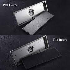 304 stainless steel insert rectangular floor waste grates bathroom