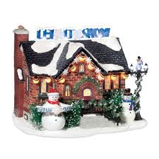 department 56 snow department 56 snow the snowman house lit