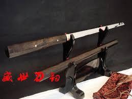 best zatoichi ready clay tempered 1095carbon steel japanese samurai zatoichi