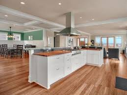 kitchen great room ideas great kitchen and living room flooring ideas smith design