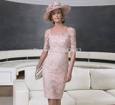 robe maman mariã e 2015 élégante robes dentelle moitié manches mère de la mariée