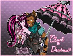 draculaura and clawd clawd and draculaura by marshmallow deviantart on