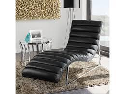 Red Chaise Lounge Sofa by Diamond Sofa Bardot Black Chaise Lounge Red Knot Chaises