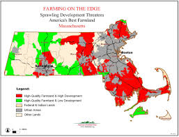 Map Massachusetts American Farmland Trust Resources Farming On The Edge Report