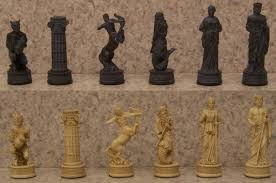 theme chess sets welcome to the manor chess sets