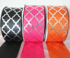 custom grosgrain ribbon new 3 75mm wide foil silver custom printed polyester grosgrain