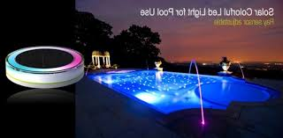 floating led pool lights solar floating led pool light with rgb leds 100 waterproof intended
