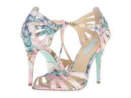 betsey johnson blue wedding shoes floral shoes for your wedding green wedding shoes weddings