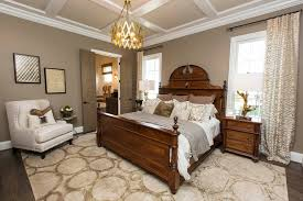 Transitional Bedroom Furniture by Faux Ceiling For Transitional Bedroom With Dark Wood Furniture