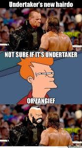 Undertaker Memes - undertaker s new hairdo undertaker wwe stuff and mixed martial arts