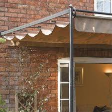 Steel Pergola With Canopy by St Tropez Steel Pergola Cheap Garden Sun Canopy For Sale Online