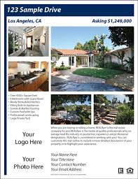 template for flyer free free real estate flyer and postcard templates real estate flyers