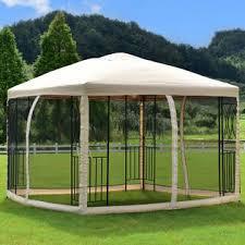 Gazebo Awning Goplus 10 U0027x10 U0027 Gazebo Canopy Shelter Patio Wedding Party Tent
