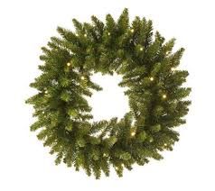 bethlehem lights solutions battery op 24 wreath page 1 qvc