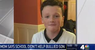 mom writes post on bullying after son stops eating
