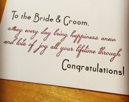 Best Wishes For Wedding Couple Best Wishes Wedding Couple Letterpress Card Handmade