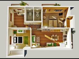 2 bedroom house plans 3d ranch plan small indian style floor