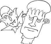 frankenstein coloring pages free coloring pages