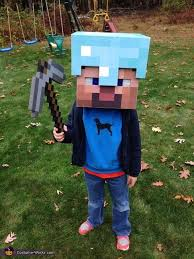 Minecraft Enderman Halloween Costume Minecraft Diamond Armor Steve Costume Steve Costume Costumes