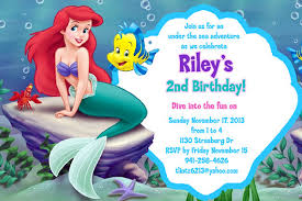 40th birthday ideas free mermaid birthday invitation templates