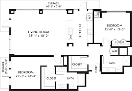 penthouse style executive floor plans genesee