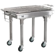 backyard professional charcoal grill backyard pro 30 stainless steel charcoal grill with removable