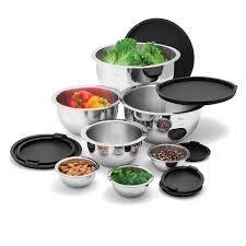 Wolfgang Puck Kitchen Knives Dishwasher Safe Mixing Bowls With Lids Fantastic Wolfgang Puck