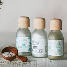 Bath Gift Sets Aromatherapy Bath Salts Gift Set Unisex By The Natural Beauty Pot