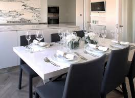 contemporary dining table centerpiece ideas modern table setting ideas freshome
