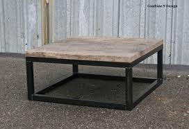 gray reclaimed wood coffee table buy a hand crafted reclaimed wood coffee table rustic urban end
