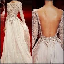 dress low back wedding dress with rhinestones 2027927 weddbook