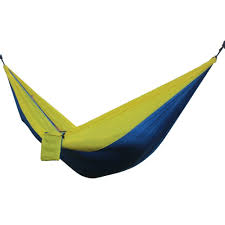 portable double person hammock blue yellow lazada ph
