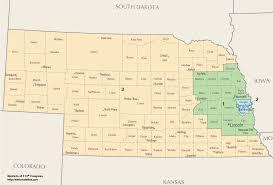 Nebraska Map Nebraska U0027s Congressional Districts Wikipedia