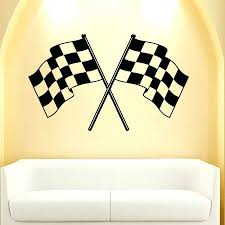 wall decor 128 race car themed room ideas ergonomic vintage car wall decal vinyl sticker decals checkered flag finish line racing boy decor t55 3m 107 cozy wall decal vinyl sticker decals checkered flag finish line
