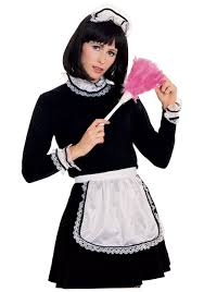 french maid costume accessory kit make your own halloween costume