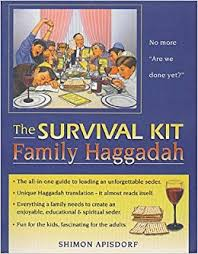 family haggadah the survival kit family haggadah everything a family needs to